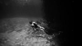 Freedive Tulum freediving in casa cenote Mexico 15