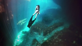 Freedive Tulum in casa cenote Mexico 14